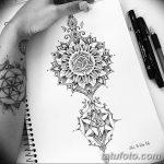 фото Эскизы индийских тату от 09.10.2017 №186 - Sketches of Indian tattoos - tatufoto.com