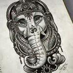 фото Эскизы индийских тату от 09.10.2017 №190 - Sketches of Indian tattoos - tatufoto.com