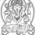 фото Эскизы индийских тату от 09.10.2017 №191 - Sketches of Indian tattoos - tatufoto.com