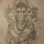 фото Эскизы индийских тату от 09.10.2017 №192 - Sketches of Indian tattoos - tatufoto.com