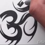 фото Эскизы индийских тату от 09.10.2017 №194 - Sketches of Indian tattoos - tatufoto.com