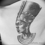фото Эскизы тату Нефертити от 02.10.2017 №006 - Sketches of Nefertiti - tatufoto.com