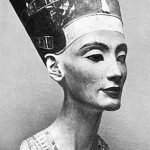 фото Эскизы тату Нефертити от 02.10.2017 №033 - Sketches of Nefertiti - tatufoto.com