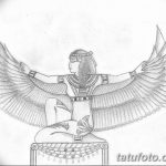 фото Эскизы тату Нефертити от 02.10.2017 №061 - Sketches of Nefertiti - tatufoto.com