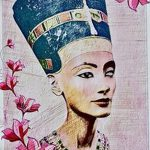 фото Эскизы тату Нефертити от 02.10.2017 №102 - Sketches of Nefertiti - tatufoto.com