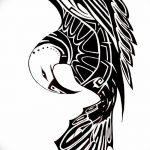 фото Эскизы тату орёл от 21.10.2017 №014 - Sketches of an eagle tattoo - tatufoto.com
