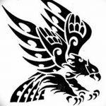 фото Эскизы тату орёл от 21.10.2017 №023 - Sketches of an eagle tattoo - tatufoto.com