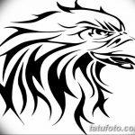 фото Эскизы тату орёл от 21.10.2017 №027 - Sketches of an eagle tattoo - tatufoto.com