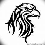 фото Эскизы тату орёл от 21.10.2017 №031 - Sketches of an eagle tattoo - tatufoto.com