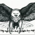 фото Эскизы тату орёл от 21.10.2017 №033 - Sketches of an eagle tattoo - tatufoto.com