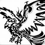 фото Эскизы тату орёл от 21.10.2017 №053 - Sketches of an eagle tattoo - tatufoto.com