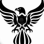 фото Эскизы тату орёл от 21.10.2017 №054 - Sketches of an eagle tattoo - tatufoto.com