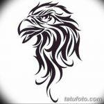 фото Эскизы тату орёл от 21.10.2017 №060 - Sketches of an eagle tattoo - tatufoto.com