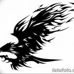 фото Эскизы тату орёл от 21.10.2017 №067 - Sketches of an eagle tattoo - tatufoto.com