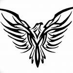 фото Эскизы тату орёл от 21.10.2017 №068 - Sketches of an eagle tattoo - tatufoto.com