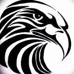 фото Эскизы тату орёл от 21.10.2017 №078 - Sketches of an eagle tattoo - tatufoto.com