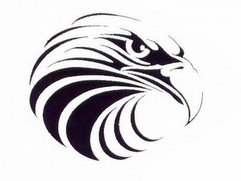 фото Эскизы тату орёл от 21.10.2017 №105 - Sketches of an eagle tattoo - tatufoto.com
