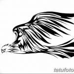 фото Эскизы тату орёл от 21.10.2017 №119 - Sketches of an eagle tattoo - tatufoto.com