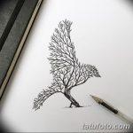 фото Эскизы тату орёл от 21.10.2017 №122 - Sketches of an eagle tattoo - tatufoto.com