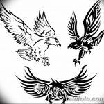 фото Эскизы тату орёл от 21.10.2017 №129 - Sketches of an eagle tattoo - tatufoto.com