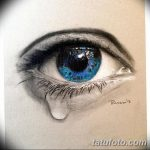 фото Эскизы тату слеза под глазом от 10.10.2017 №024 - Sketches of a tear - tatufoto.com