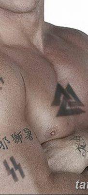 фото нацистские тату 88 от 28.10.2017 №006 – Nazi tattoos 88 – tatufoto.com