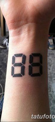 фото нацистские тату 88 от 28.10.2017 №011 – Nazi tattoos 88 – tatufoto.com