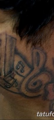 фото татуировка динамик и магнитофон от 11.10.2017 №022 – tattoo speaker – tatufoto.com