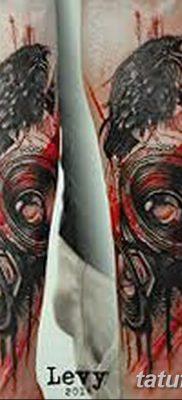 фото татуировка динамик и магнитофон от 11.10.2017 №031 – tattoo speaker – tatufoto.com
