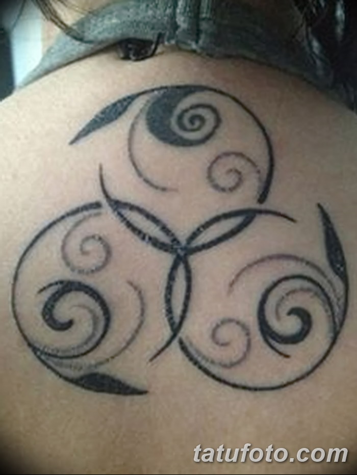 фото татуировка триксель от 23.10.2017 №001 - triksel tattoo - tatufoto.com
