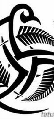 фото татуировка триксель от 23.10.2017 №005 – triksel tattoo – tatufoto.com