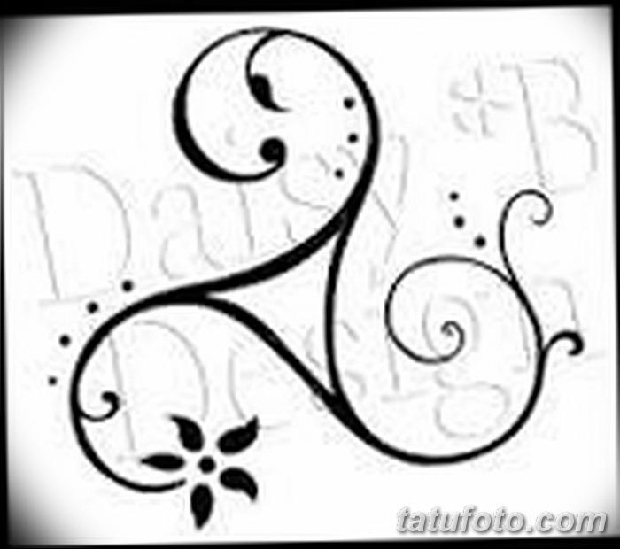 фото татуировка триксель от 23.10.2017 №036 - triksel tattoo - tatufoto.com