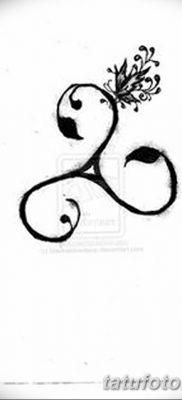 фото татуировка триксель от 23.10.2017 №037 – triksel tattoo – tatufoto.com