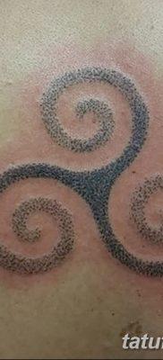 фото татуировка триксель от 23.10.2017 №042 – triksel tattoo – tatufoto.com