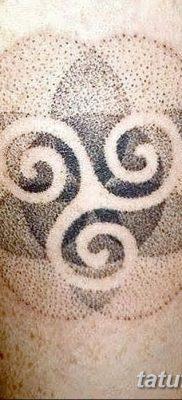 фото татуировка триксель от 23.10.2017 №045 – triksel tattoo – tatufoto.com