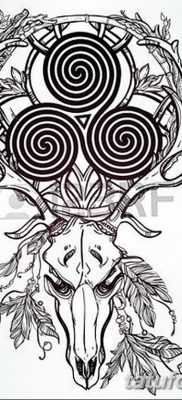 фото татуировка триксель от 23.10.2017 №059 – triksel tattoo – tatufoto.com