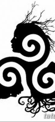 фото татуировка триксель от 23.10.2017 №069 – triksel tattoo – tatufoto.com