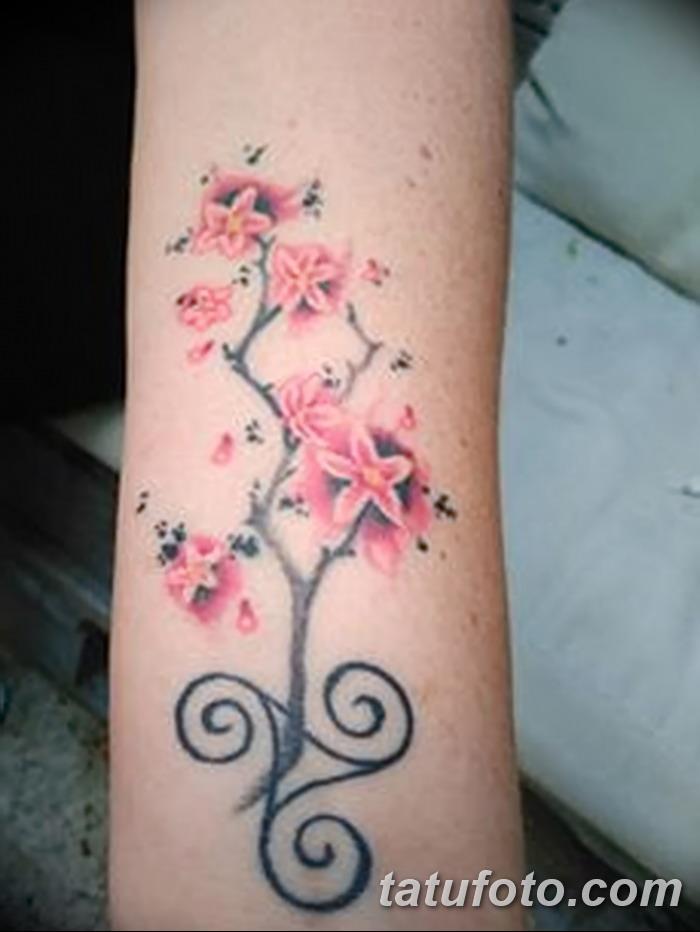 фото татуировка триксель от 23.10.2017 №075 - triksel tattoo - tatufoto.com