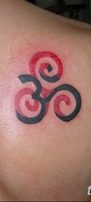 фото татуировка триксель от 23.10.2017 №089 – triksel tattoo – tatufoto.com