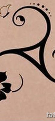 фото татуировка триксель от 23.10.2017 №096 – triksel tattoo – tatufoto.com
