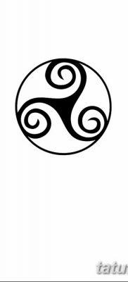 фото татуировка триксель от 23.10.2017 №098 – triksel tattoo – tatufoto.com