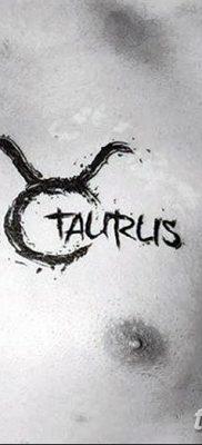 фото тату Телец от 21.10.2017 №010 – tatu Taurus – tatufoto.com