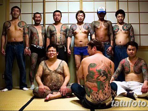 фото тату Якудза от 25.10.2017 №092 - tatu Yakuza - tatufoto.com