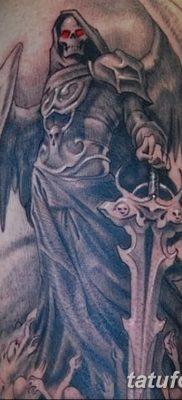 фото тату ангел смерти от 28.10.2017 №005 – angel death tattoo – tatufoto.com