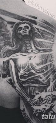 фото тату ангел смерти от 28.10.2017 №007 – angel death tattoo – tatufoto.com
