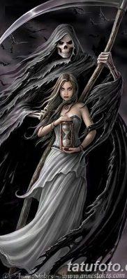 фото тату ангел смерти от 28.10.2017 №008 – angel death tattoo – tatufoto.com