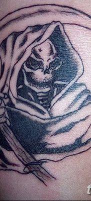 фото тату ангел смерти от 28.10.2017 №009 – angel death tattoo – tatufoto.com