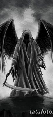 фото тату ангел смерти от 28.10.2017 №011 – angel death tattoo – tatufoto.com