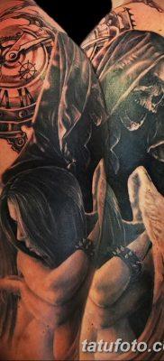фото тату ангел смерти от 28.10.2017 №013 – angel death tattoo – tatufoto.com