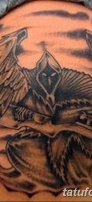 фото тату ангел смерти от 28.10.2017 №014 – angel death tattoo – tatufoto.com